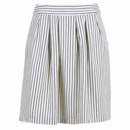 Benetton  POLY  women's Skirt in White