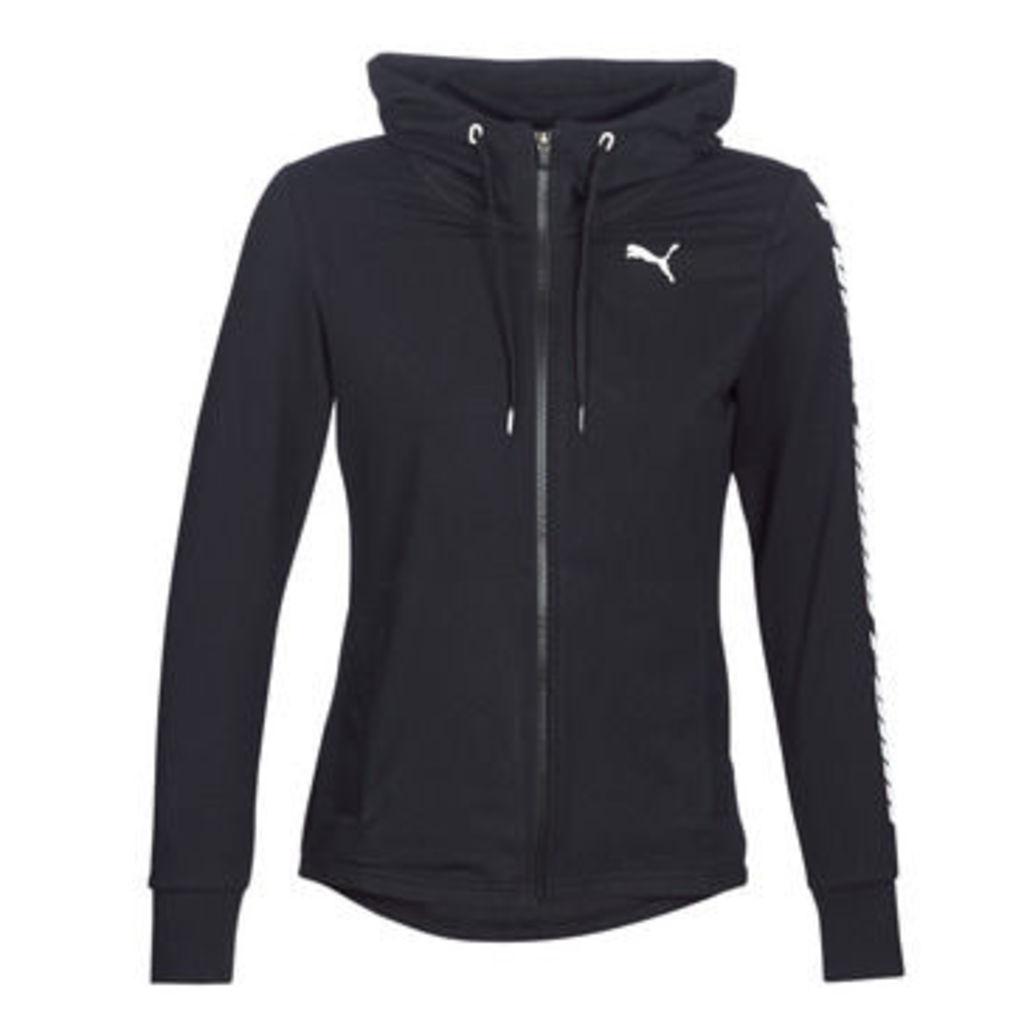Puma  MS HOODY JACET  women's Sweatshirt in Black