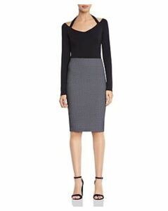 Bailey 44 Skiff Polka Dot Pencil Skirt