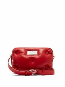 Maison Margiela - Glam Slam Leather Belt Bag - Womens - Red