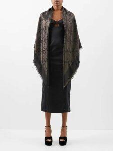 Isabel Marant Étoile - Emelina Leaf Print Cotton Shirt - Womens - White Multi