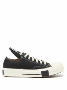 Miu Miu - Camouflage Print Cotton Gabardine Coat - Womens - Green Multi