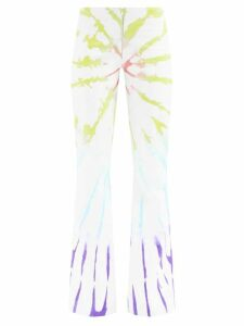 Calvin Klein 205w39nyc - Stripe Intarsia Wool Blend Sweater - Womens - Multi