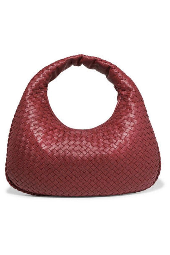 Bottega Veneta - Intrecciato Leather Tote - Red