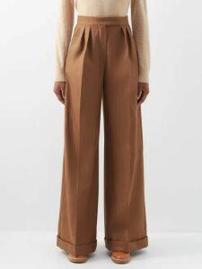 Lee Mathews - Georgie Puff Sleeve Dress - Womens - Black