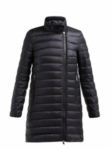 Moncler - Berlin Lightweight Quilted Down Coat - Womens - Navy