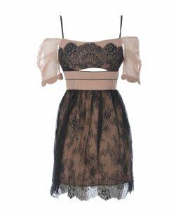 Cut Out Detail Mini Dress