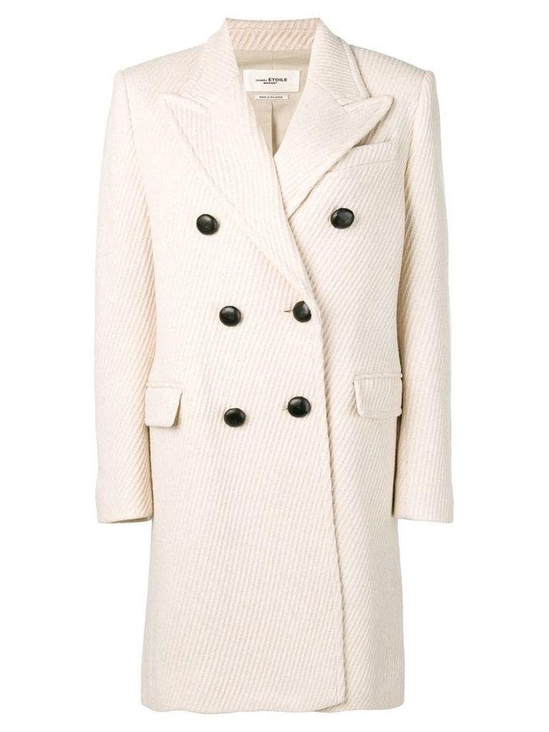 Isabel Marant Étoile double breasted coat - White