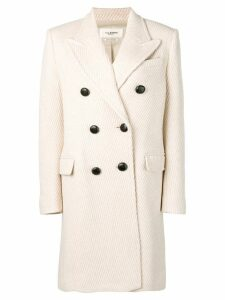 Isabel Marant Étoile double breasted coat - White