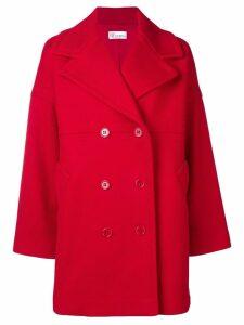 Red Valentino double breasted midi coat