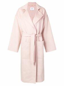 Nanushka Alamo robe coat - Pink