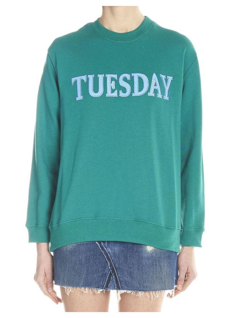 Alberta Ferretti 'rainbow Week' Sweatshirt