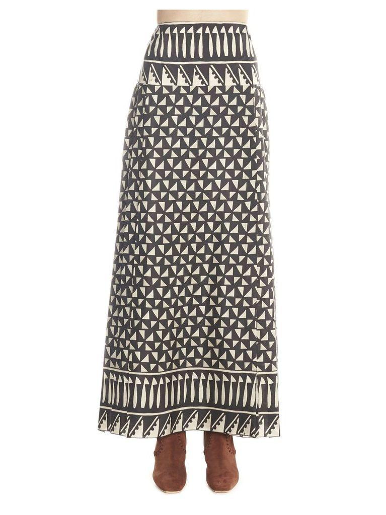Alberta Ferretti 'habotay' Skirt