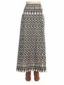 Alberta Ferretti habotay Skirt