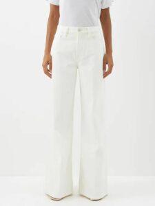 Calvin Klein 205w39nyc - Oversized Roll Neck Cotton Sweatshirt - Womens - Pink