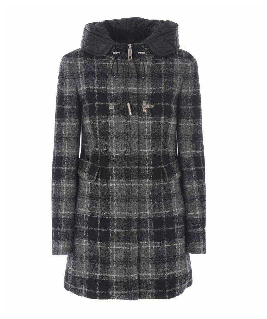 Fay Tartan Coat