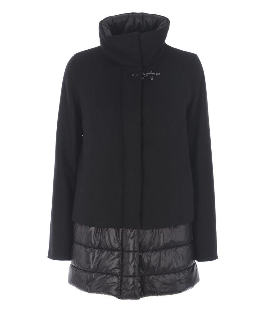 Fay Shell Paneled Coat