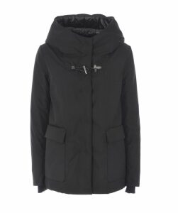 Hook Closure Duffle Coat