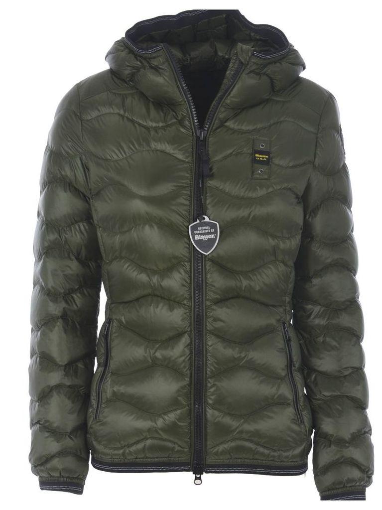 Blauer Zipped Down Jacket