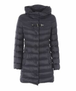 Hook Closure Padded Jacket