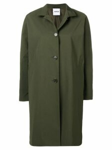 Aspesi front button coat - Green