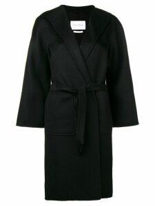 Max Mara belted midi coat - Black