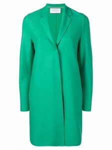 Harris Wharf London Cocoon single breasted coat - Green