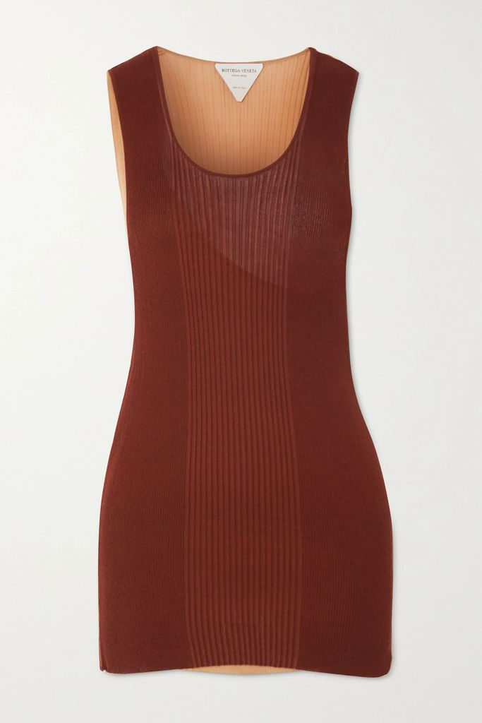 Needle & Thread - Tiered Embellished Tulle And Point D'esprit Gown - Ivory