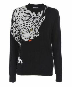 Tiger Intarsia Sweater