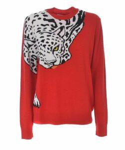 Intarsia Tiger Sweater