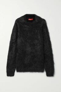 Balmain - Button-embellished Frayed Tweed Coat - Beige
