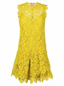Ermanno Scervino floral lace dress - Yellow