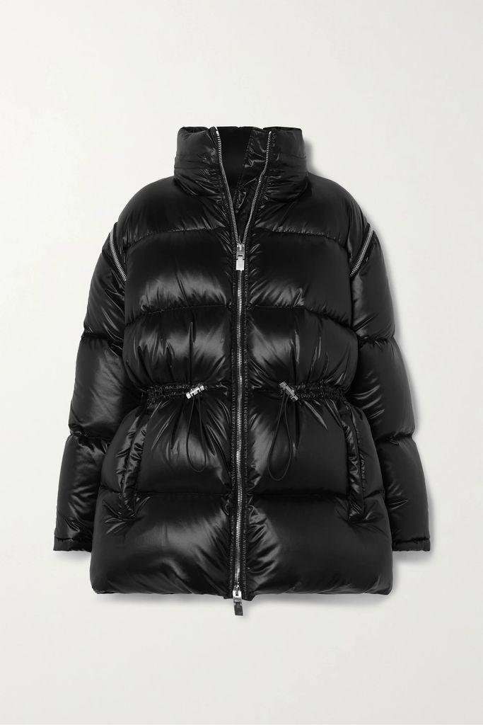 CASASOLA - Ribbed Stretch-knit Midi Dress - Black