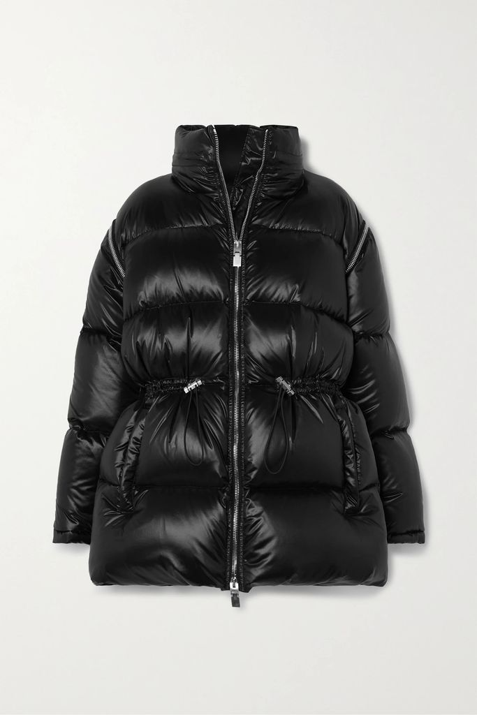 CASASOLA - Ribbed Stretch-knit Midi Dress - Black