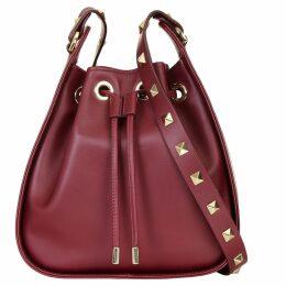 Aurora London - The Ziggy Bag Burgundy