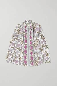 A.W.A.K.E. MODE - Fluted Crepe Midi Skirt - Pink