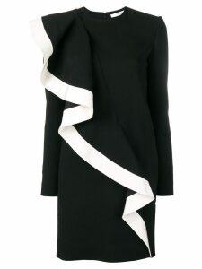 Givenchy ruffle detail dress - Black