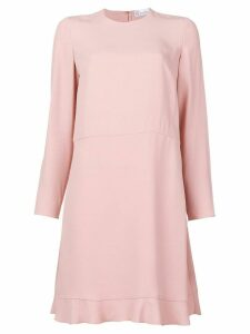 Red Valentino RED Valentino peplum hem shift dress - Pink
