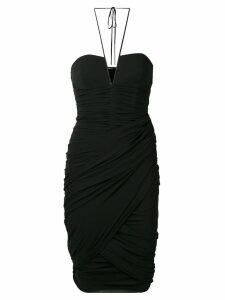 Tom Ford short halterneck dress - Black