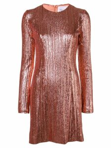 Galvan sequin midi dress - Pink