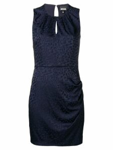 Just Cavalli sleeveless fitted mini dress - Blue