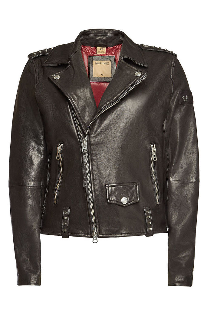 True Religion Leather Jackets