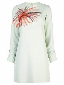 Victoria Victoria Beckham shift mini dress - Green