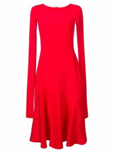 Calvin Klein 205W39nyc cape-sleeve flared dress