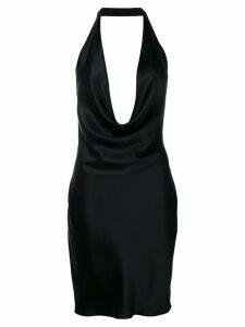 Stella McCartney halter mini dress - Black
