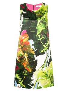 Blugirl floral flared dress - Green