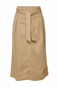 Velvet Bray Cotton Midi Skirt
