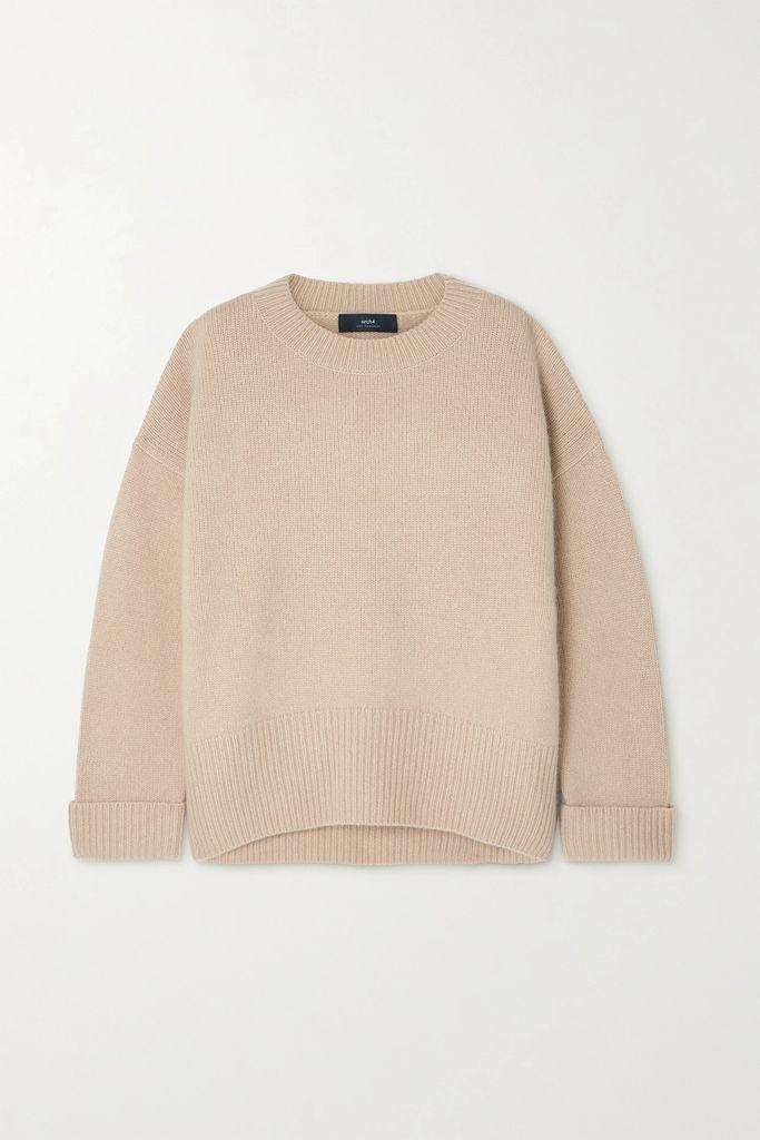 3.1 Phillip Lim - Wool-trimmed Tie-dye Cotton-jersey T-shirt - Beige