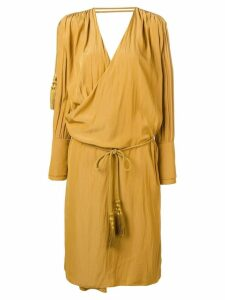 LANVIN relaxed fit dress - Yellow