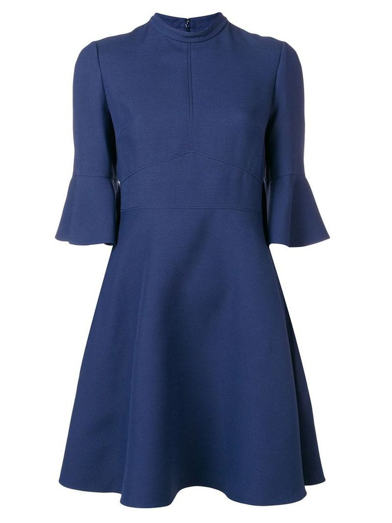 Valentino flared mini dress - Blue